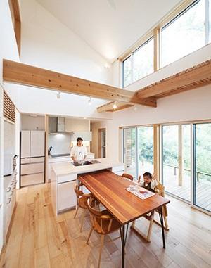 視覚効果のある美しい借景キッチン.jpg